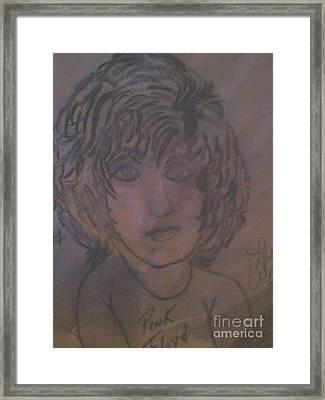 Syd Barrett Framed Print by Lisa Anderson