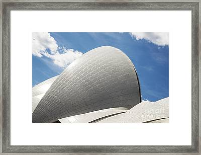 Sydney Opera House Detail In Australia Framed Print