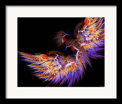 Subtle Colors Digital Art Framed Prints