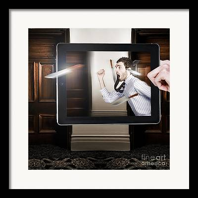 Digital Touch Framed Prints