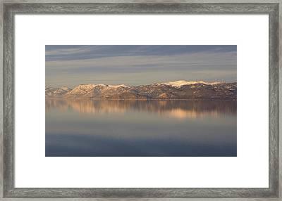 Tahoe Framed Print by Alison Miles