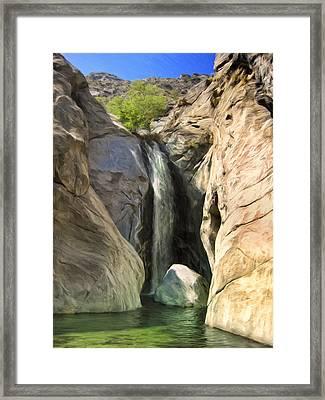 Tahquitz Falls Framed Print