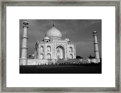 Taj Mahal - India  Framed Print by Aidan Moran