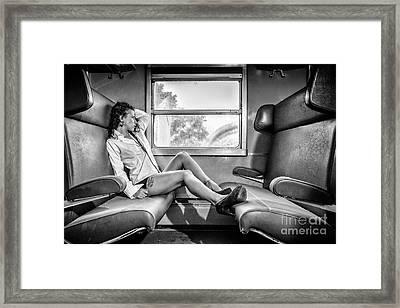 Take A Litte Trip Framed Print by Traven Milovich