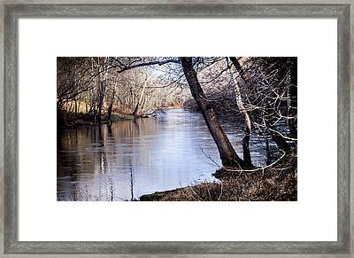 Take Me To The River Framed Print by Karen Wiles