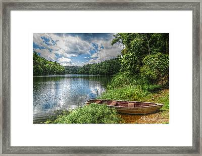 Take Me To The River Framed Print by Missy Richards