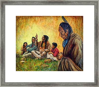 Tales Passed On Framed Print