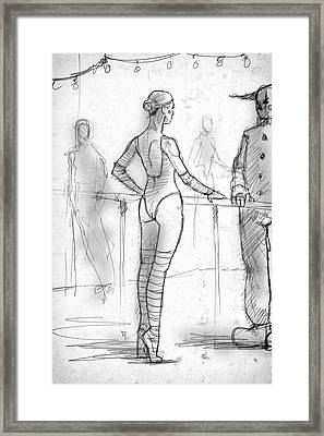Talk Framed Print by H James Hoff