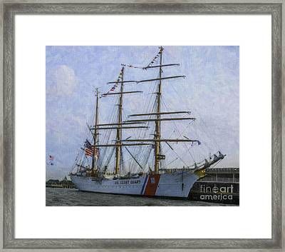 Tall Ship Barque Eagle  Framed Print