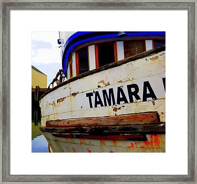 Tamara Framed Print by Mamie Gunning