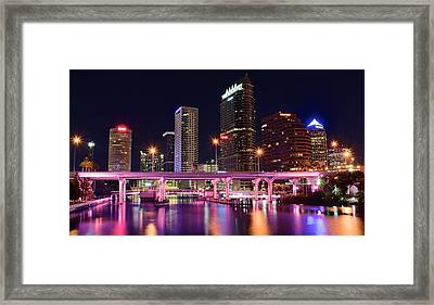 Tampa Colors Framed Print