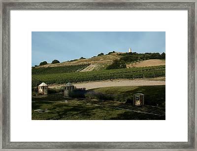 Tarquinia Countryside Framed Print