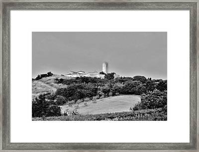 Tarquinia Landscape Framed Print