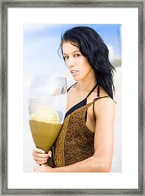 Taste Of Island Paradise Framed Print