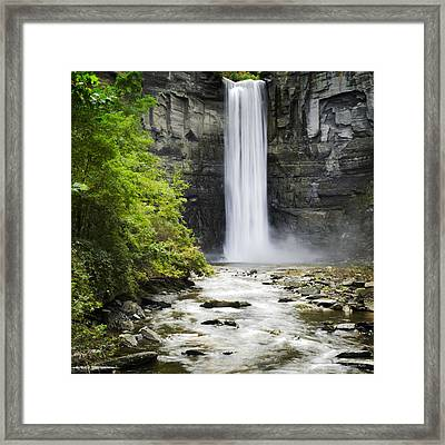 Taughannock Falls State Park Framed Print by Christina Rollo