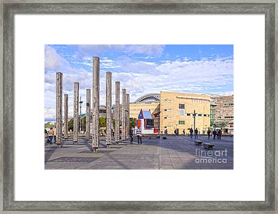 Te Papa Wellington New Zealand Framed Print