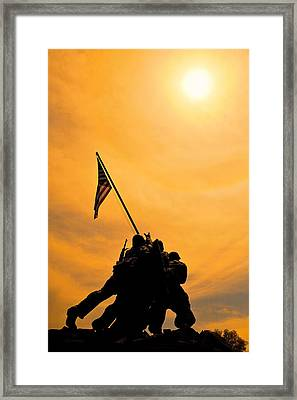 Team Effort Framed Print by Lawrence Boothby