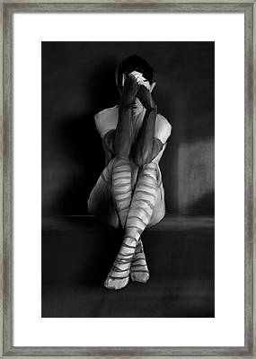 Tears Framed Print by H James Hoff