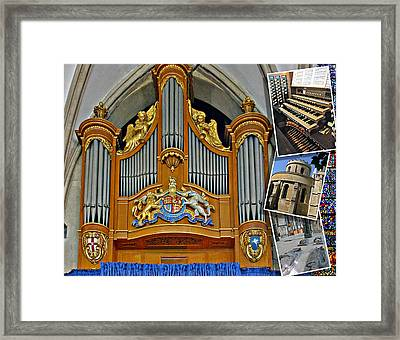 Temple Church London Framed Print