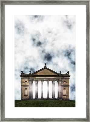 Temple Framed Print by Joana Kruse
