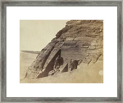 Temple Of Ramses II Framed Print