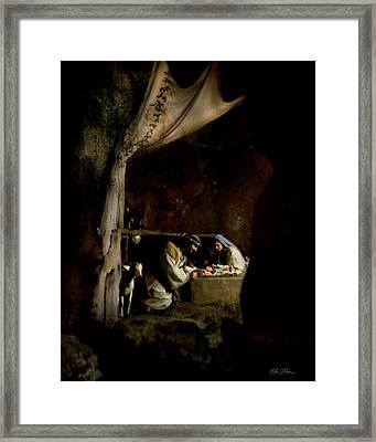 Tender Moments Framed Print