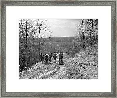 Tennessee Roads, 1936 Framed Print by Granger