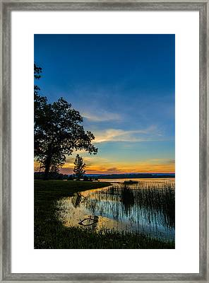 Tennessee Sunset Framed Print