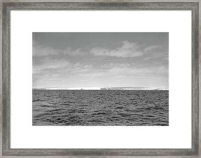 Terra Nova View Of Antarctica Framed Print