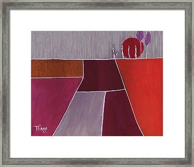 Terre De Feu - 2007 Framed Print by Mirko Gallery