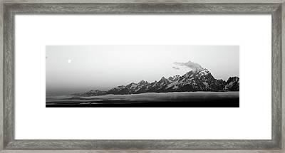 Teton Range Grand Teton National Park Framed Print by Panoramic Images