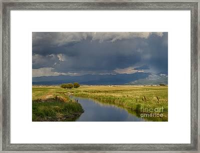 Teton Valley  Framed Print