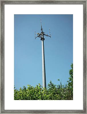 Tetra Mast Framed Print by Robert Brook