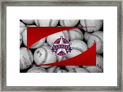 Texas Rangers Framed Print by Joe Hamilton