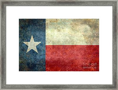 Texas The Lone Star State Framed Print