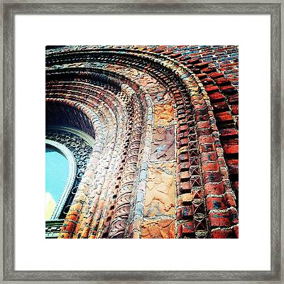 Textured Detail Framed Print by Natasha Marco