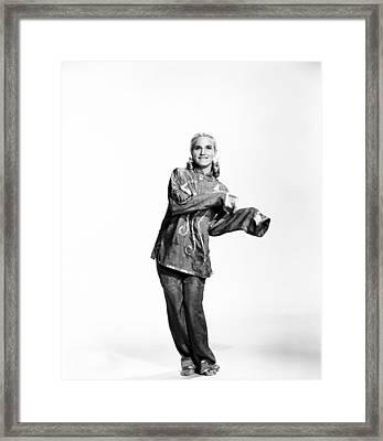 That Certain Feeling, Eva Marie Saint Framed Print by Everett