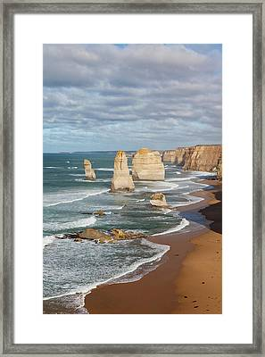 The 12 Apostles, Great Ocean Road Framed Print by Martin Zwick