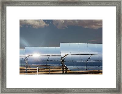The 354 Megawatts Segs Plant Framed Print by Ashley Cooper