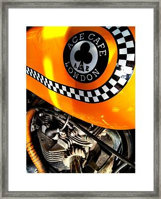 The Ace Framed Print by Gabor Fichtacher
