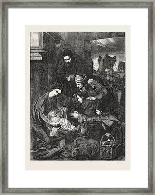 The Adoration Of The Shepherds Framed Print