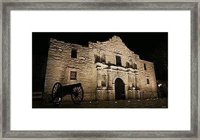 The Alamo Remembered Framed Print