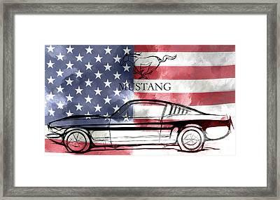The American Dream Framed Print by Steve K