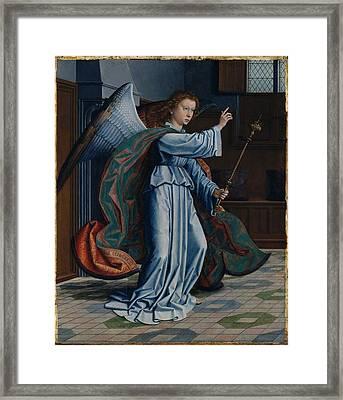 The Annunciation Framed Print by Gerard David