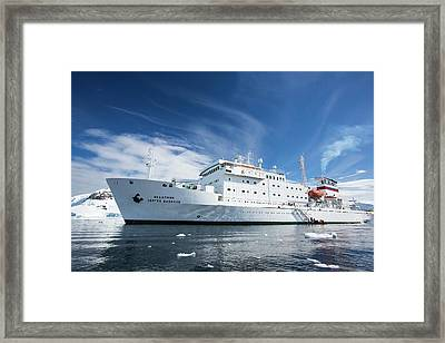 The Antarctic Peninsular Framed Print