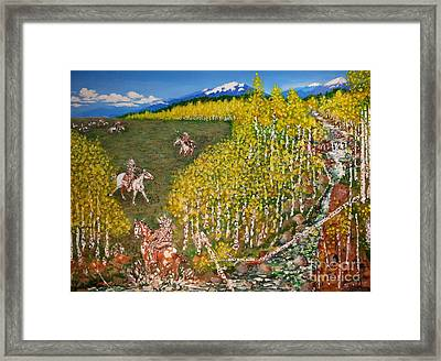 The Aspen Dash Framed Print by JD Turpin