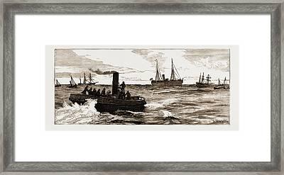 The Assassination Of Carey, Arrest Of Odonnell At Port Framed Print