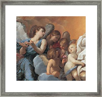 The Assumption Of The Virgin Mary Framed Print