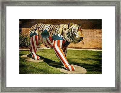 The Auburn Tiger Framed Print by Mountain Dreams