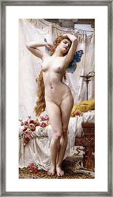 The Awakening Of Psyche Framed Print